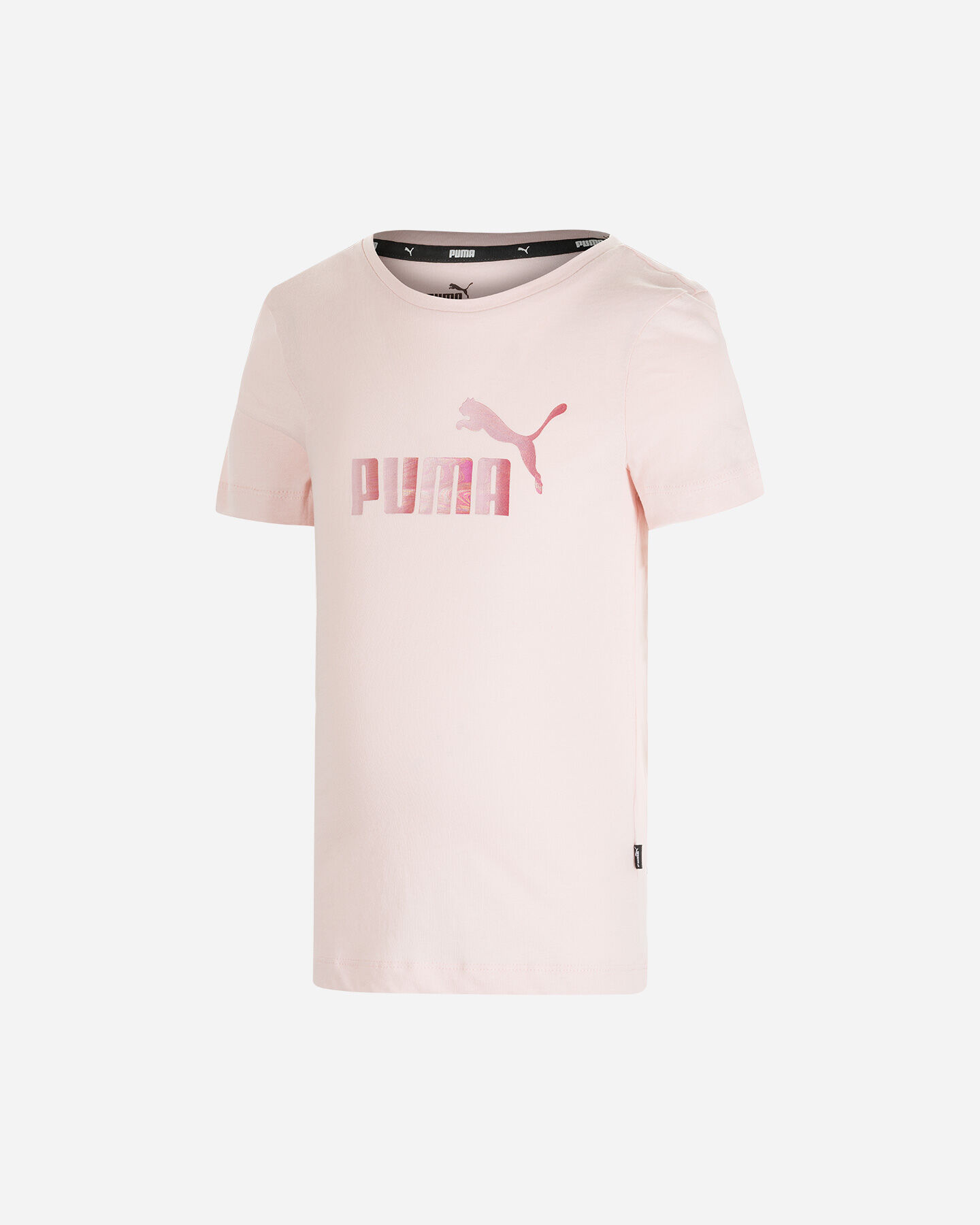 T-Shirt PUMA BASIC JR S5339167 scatto 0