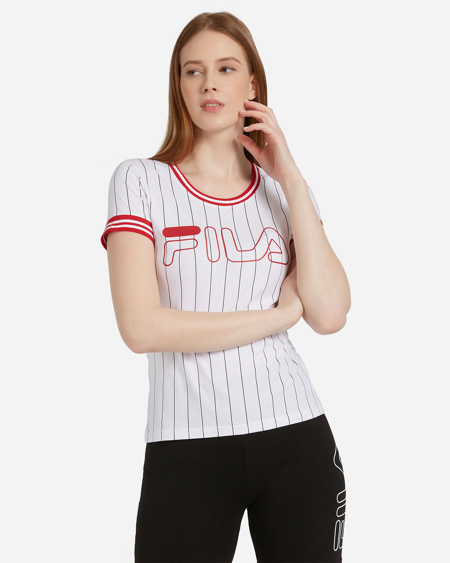 T-Shirt FILA STRIPES W S4074257 scatto 0