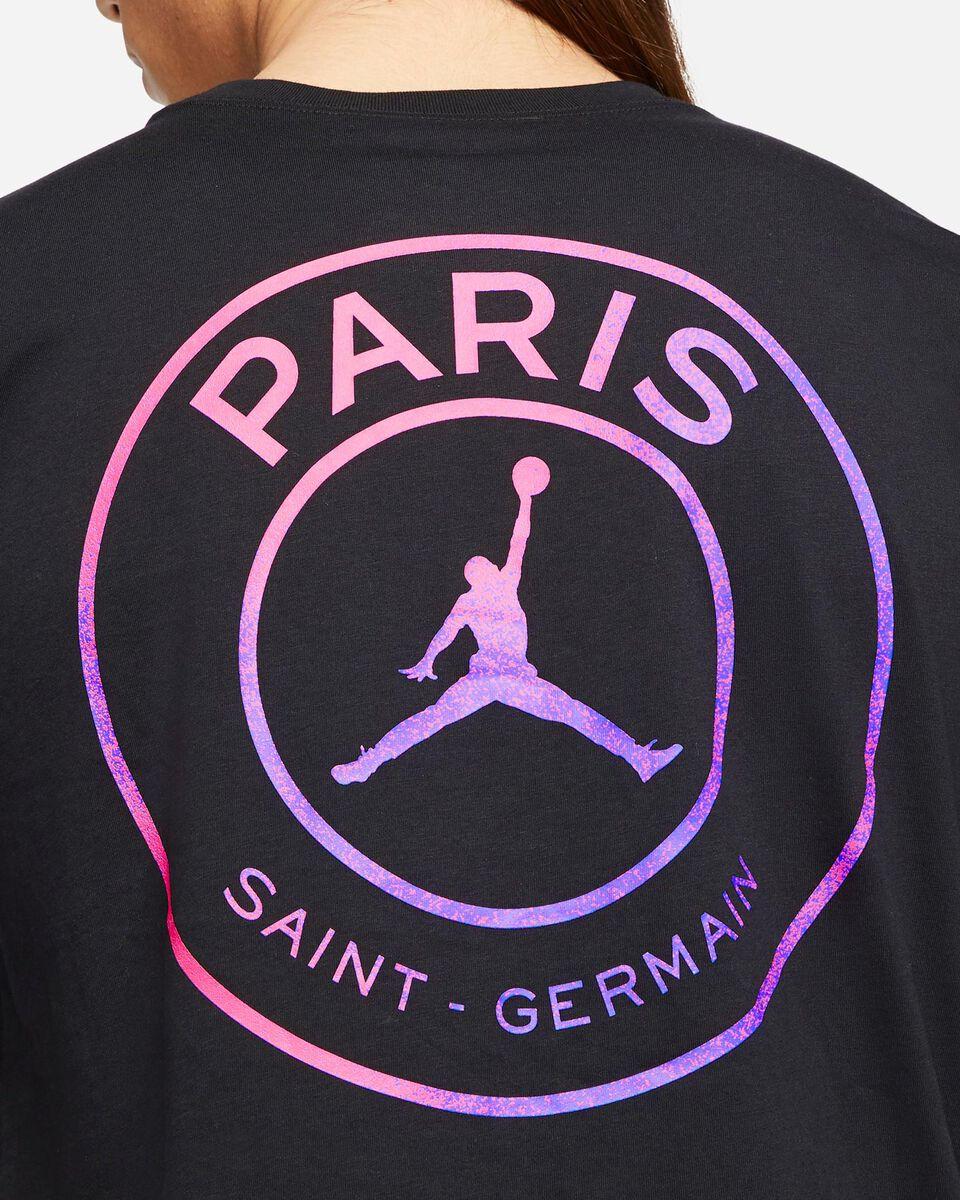 T-Shirt NIKE JORDAN PSG LOGO RETRO M S5267627 scatto 3