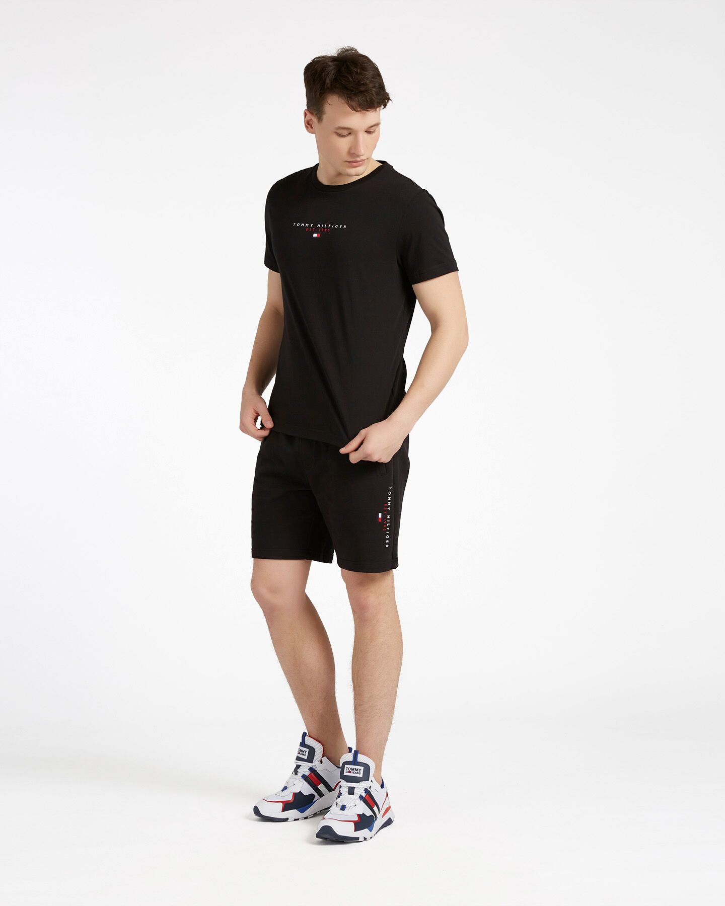 T-Shirt TOMMY HILFIGER ESSENTIAL M S4089510 scatto 1