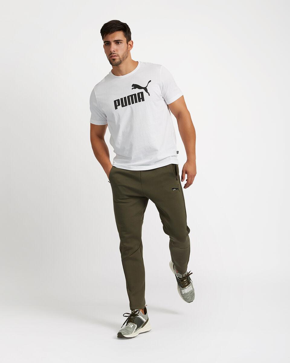 T-Shirt PUMA ESSENTIALS LOGO BASIC TEE M S4051516 scatto 3