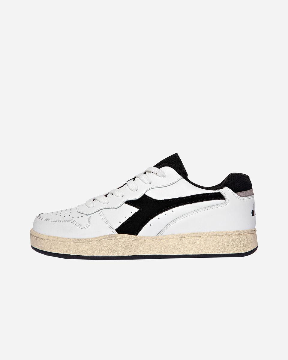 Scarpe sneakers DIADORA USED BASKET LOW M S5171197 scatto 5