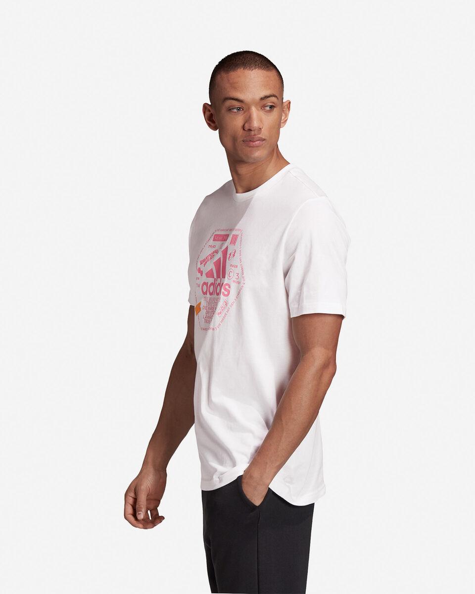 T-Shirt ADIDAS URBAN BIG LOGO M S5211985 scatto 3