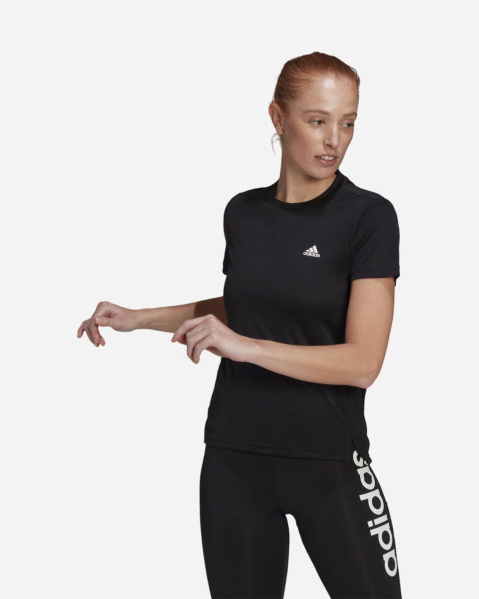 T-Shirt training ADIDAS 3 STRIPES W S5274934 scatto 1