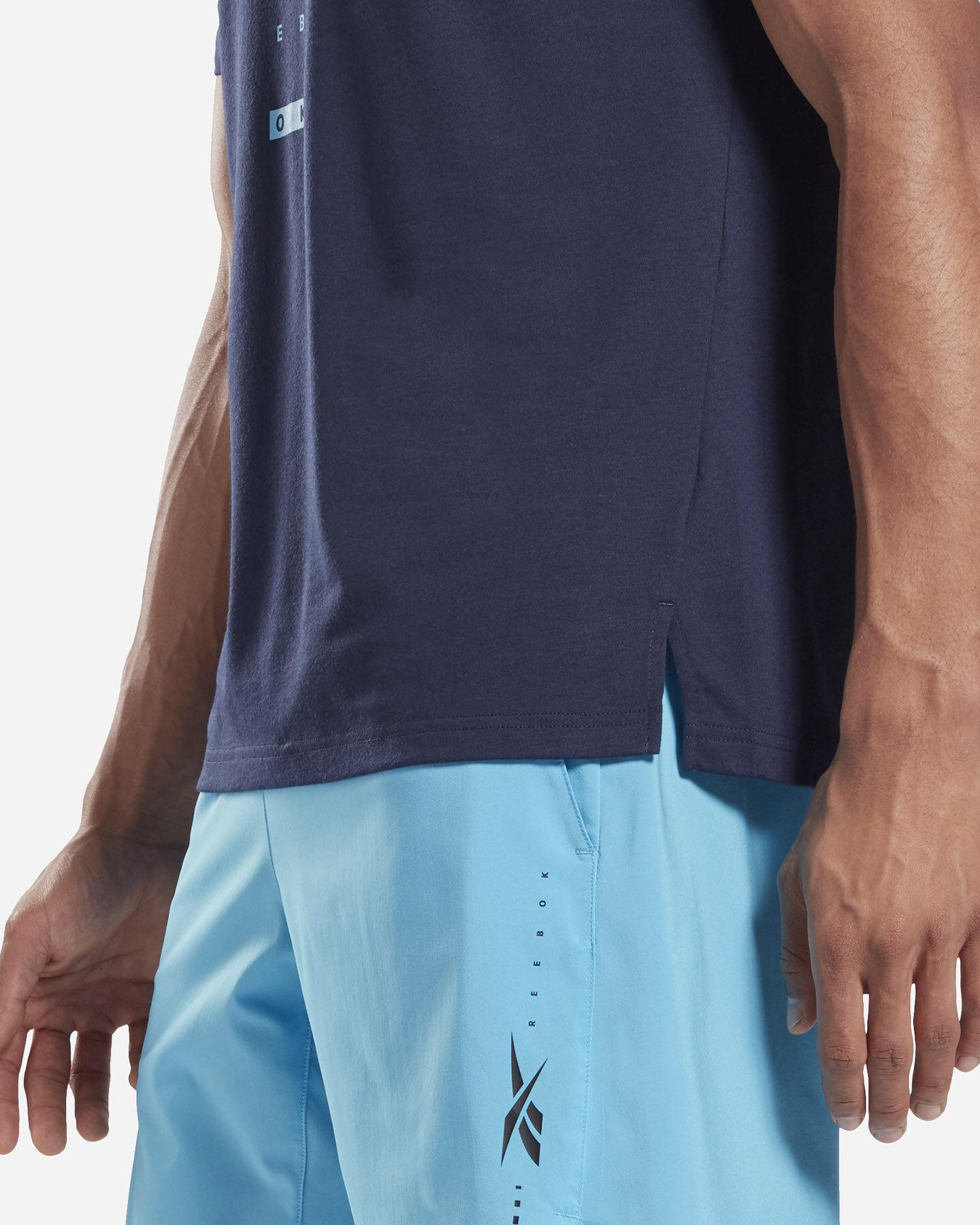 T-Shirt training REEBOK SPEEDWICK MOVE M S5280390 scatto 5