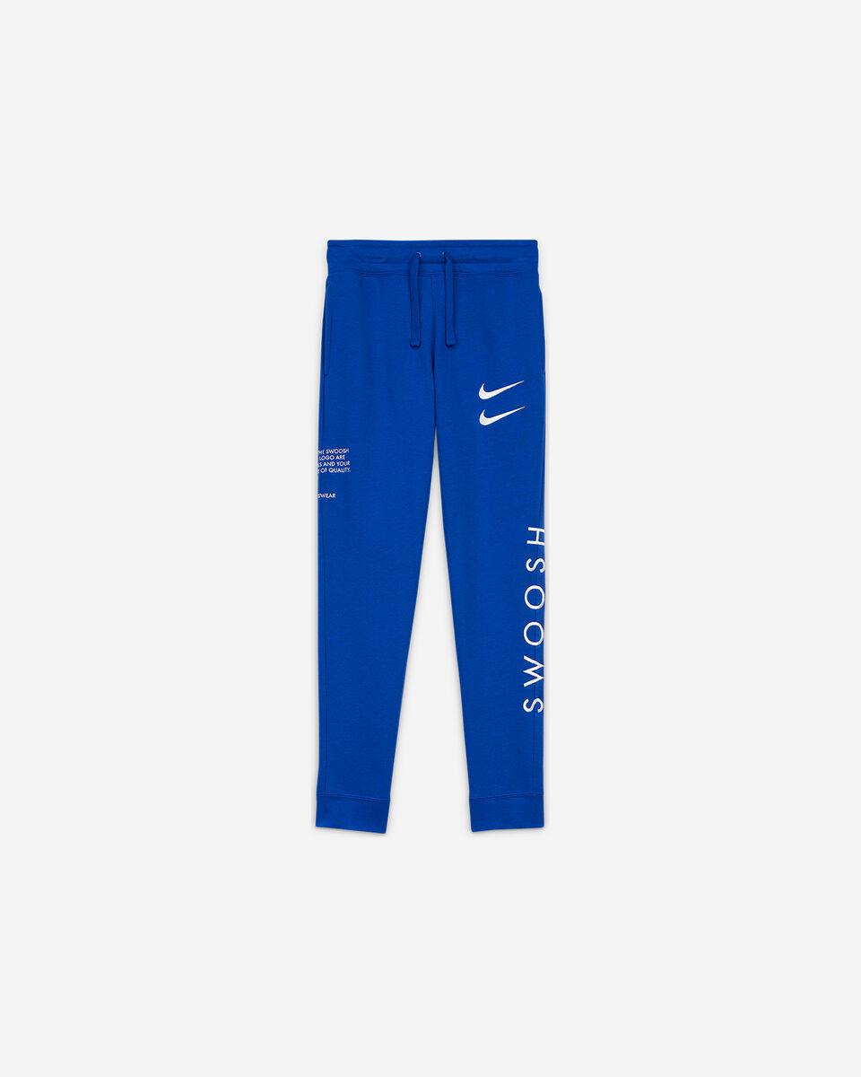 Pantalone NIKE SWOOSH JR S5225752 scatto 0