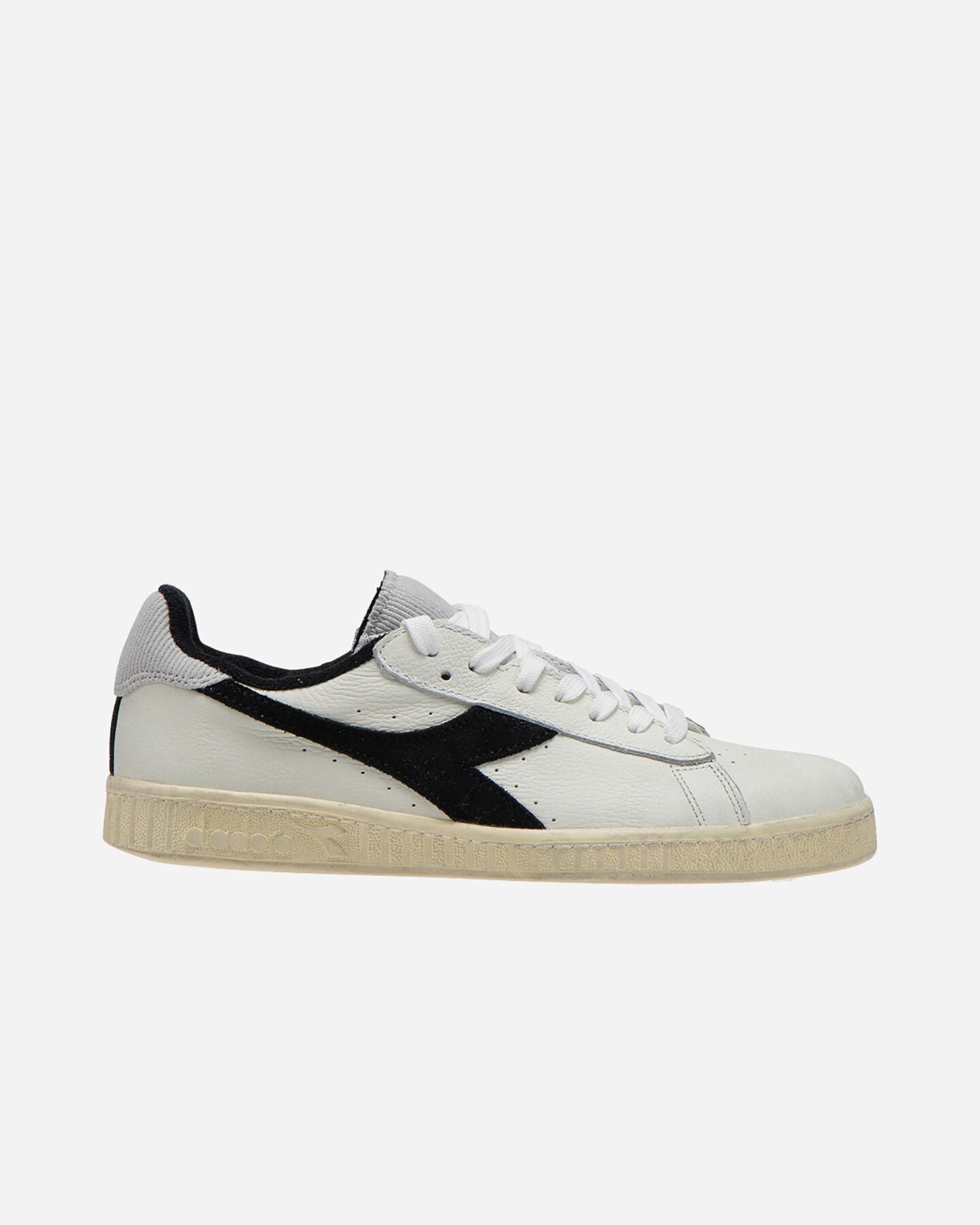 Scarpe sneakers DIADORA GAME L LOW USED M S5083816 scatto 0