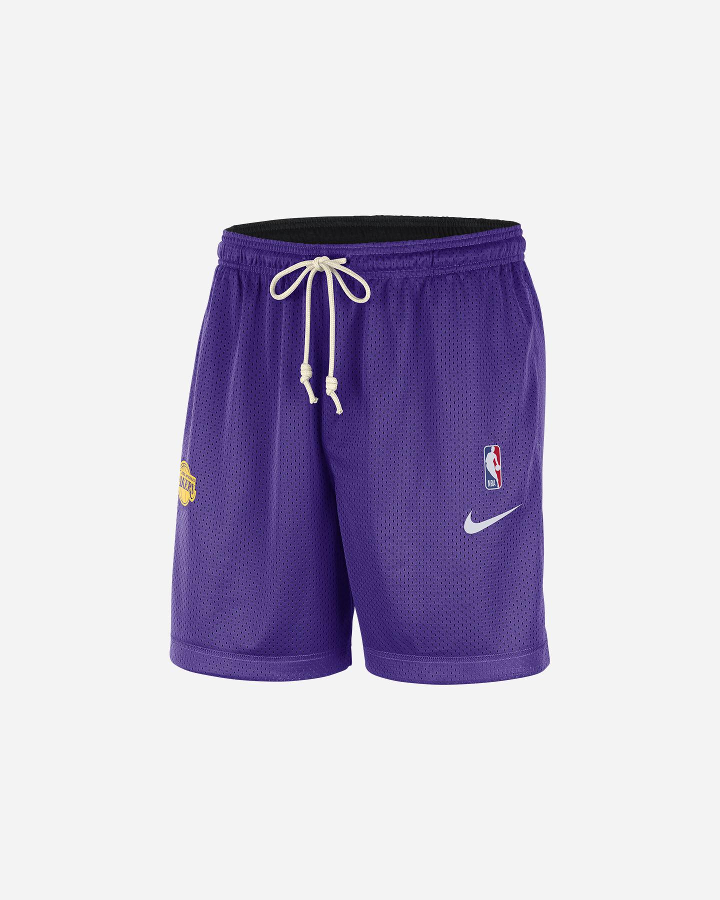 Pantaloncini basket NIKE LA LAKERS STD ISSUES M S5248861 scatto 0