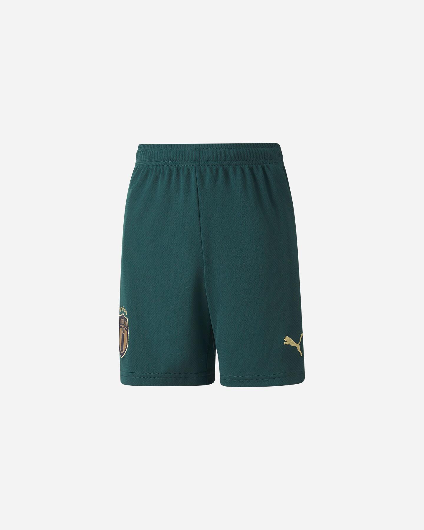 Pantaloncini calcio PUMA ITALIA FIGC THIRD JR S5172833 scatto 0
