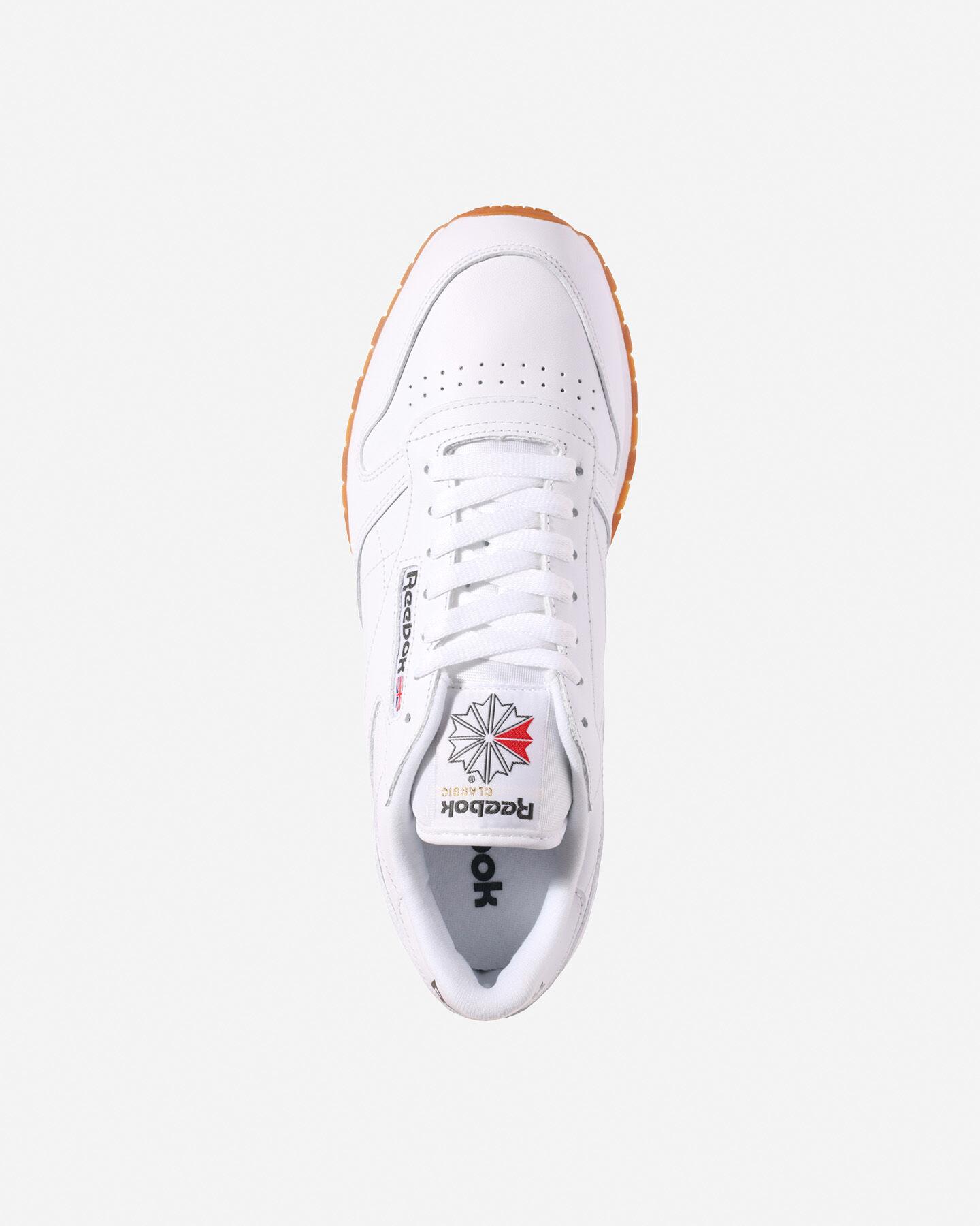 Scarpe sneakers REEBOK CLASSIC LEATHER M S4023267 scatto 3