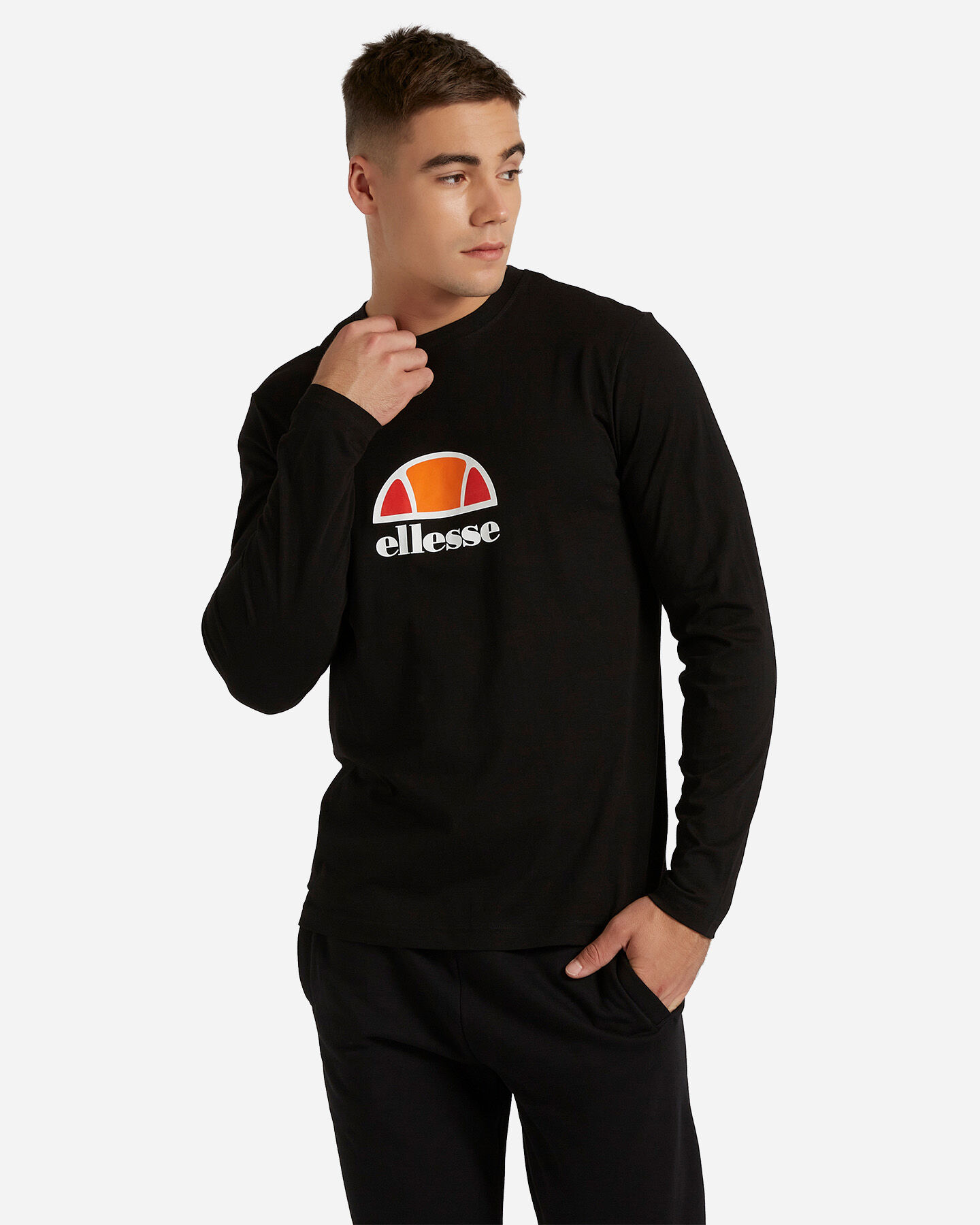 T-Shirt ELLESSE ML SMALL LOGO M S4081214 scatto 0