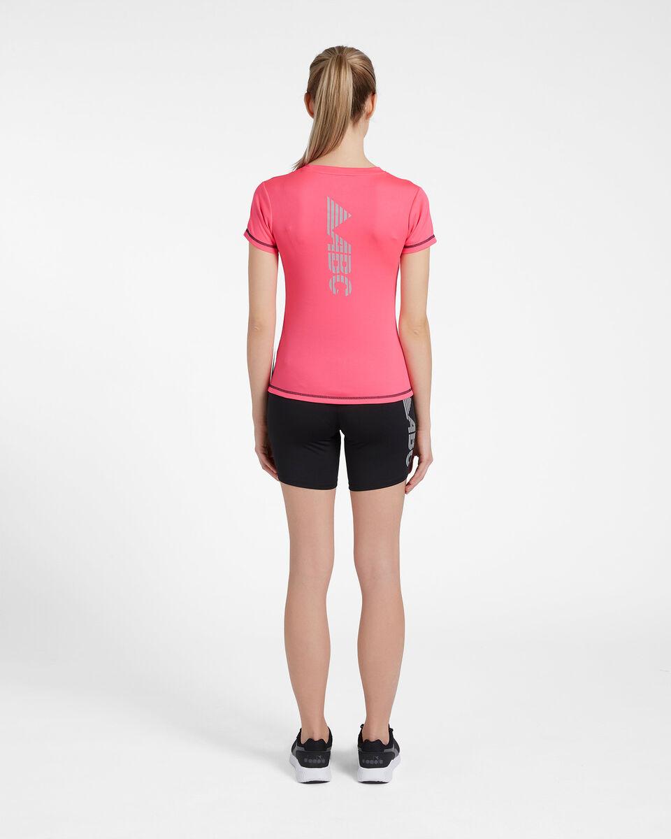 T-Shirt running ABC RUN W S4088091 scatto 2
