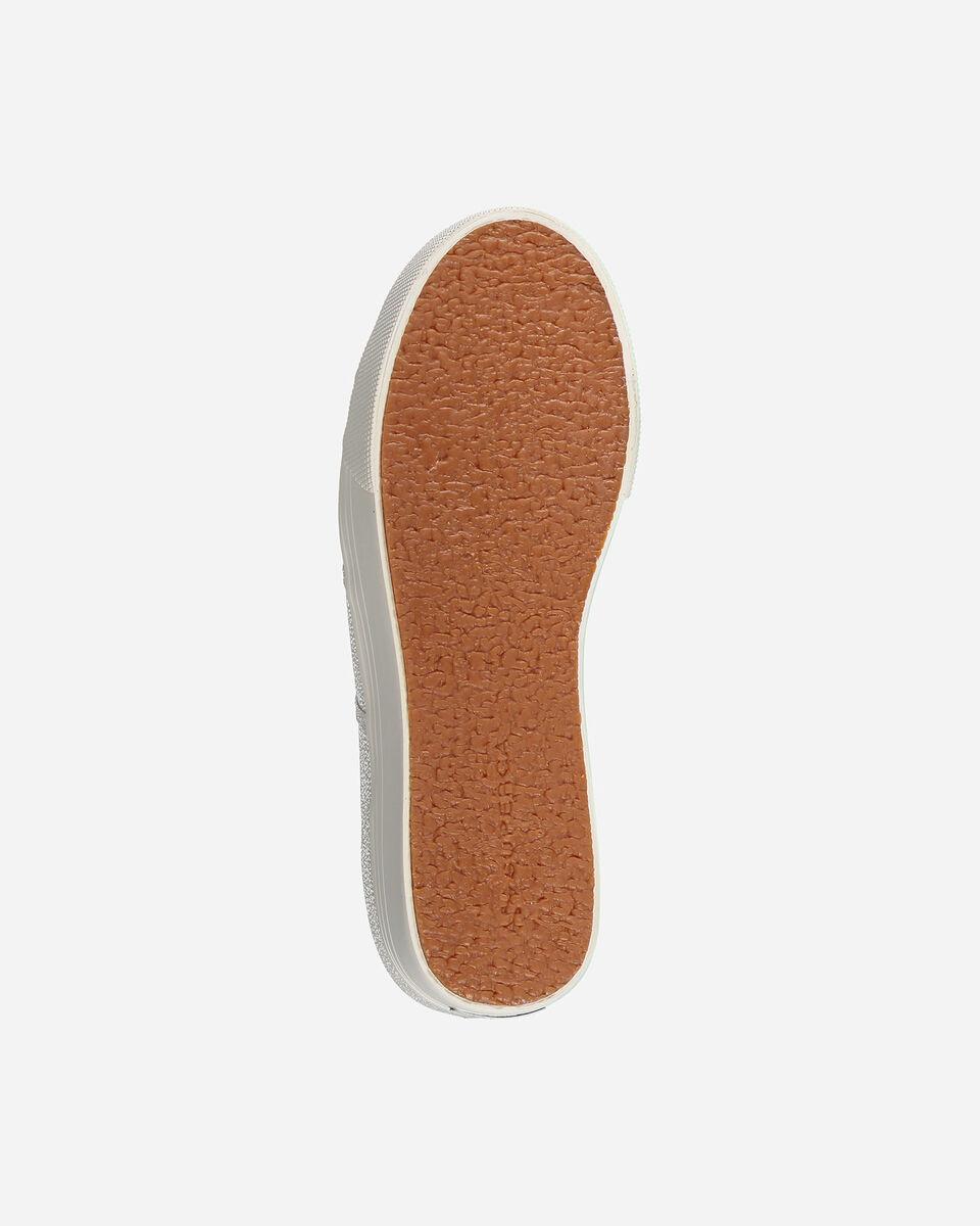 Scarpe sneakers SUPERGA 2790 LAME W S4010575 scatto 2