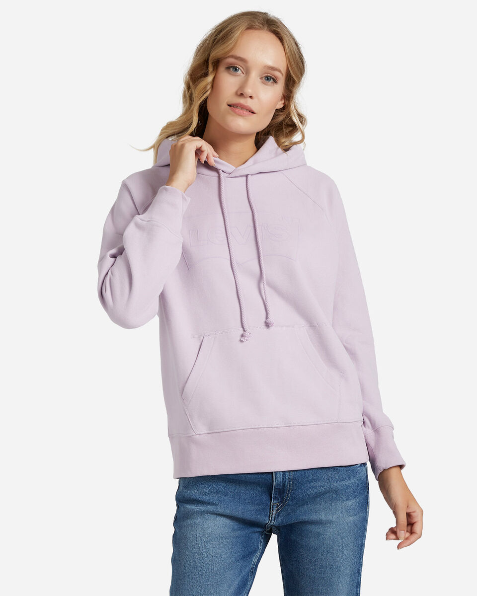 Felpa LEVI'S LOGO OUTLINE BATWING W S4083507 scatto 0