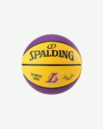 Pallone basket SPALDING LOS ANGELES LAKERS MIS7