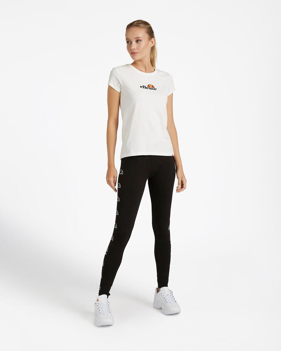 T-Shirt ELLESSE MC LOGO W S4081242 scatto 1