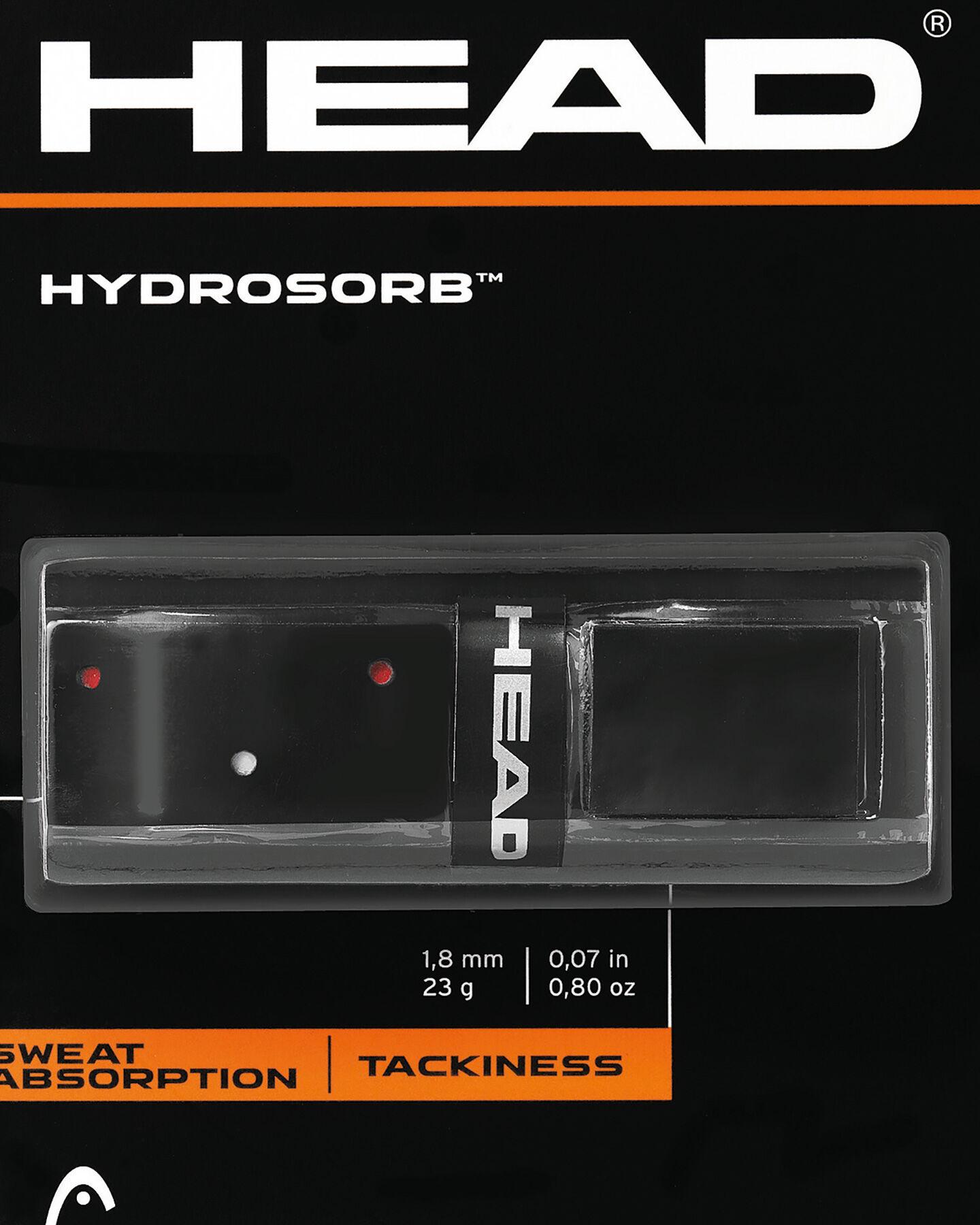 Grip tennis HEAD HYDROSORB S5093099|BKRD|UNI scatto 1