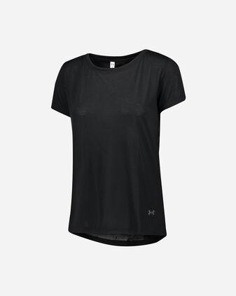 T-Shirt training UNDER ARMOUR WHISPERLIGHT FOLDOVER W