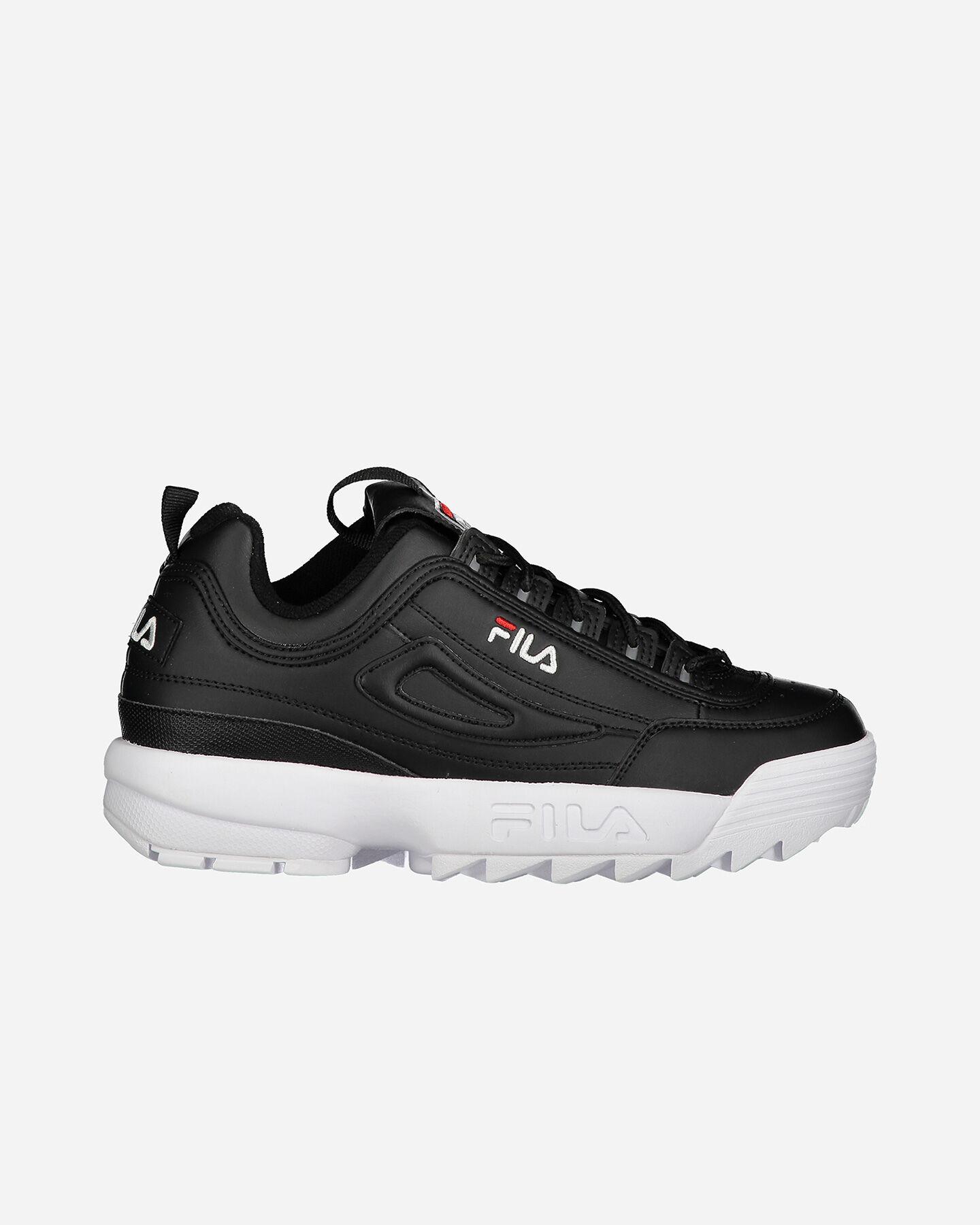 Scarpe sneakers FILA DISRUPTOR LOW GS JR S4081690 scatto 0