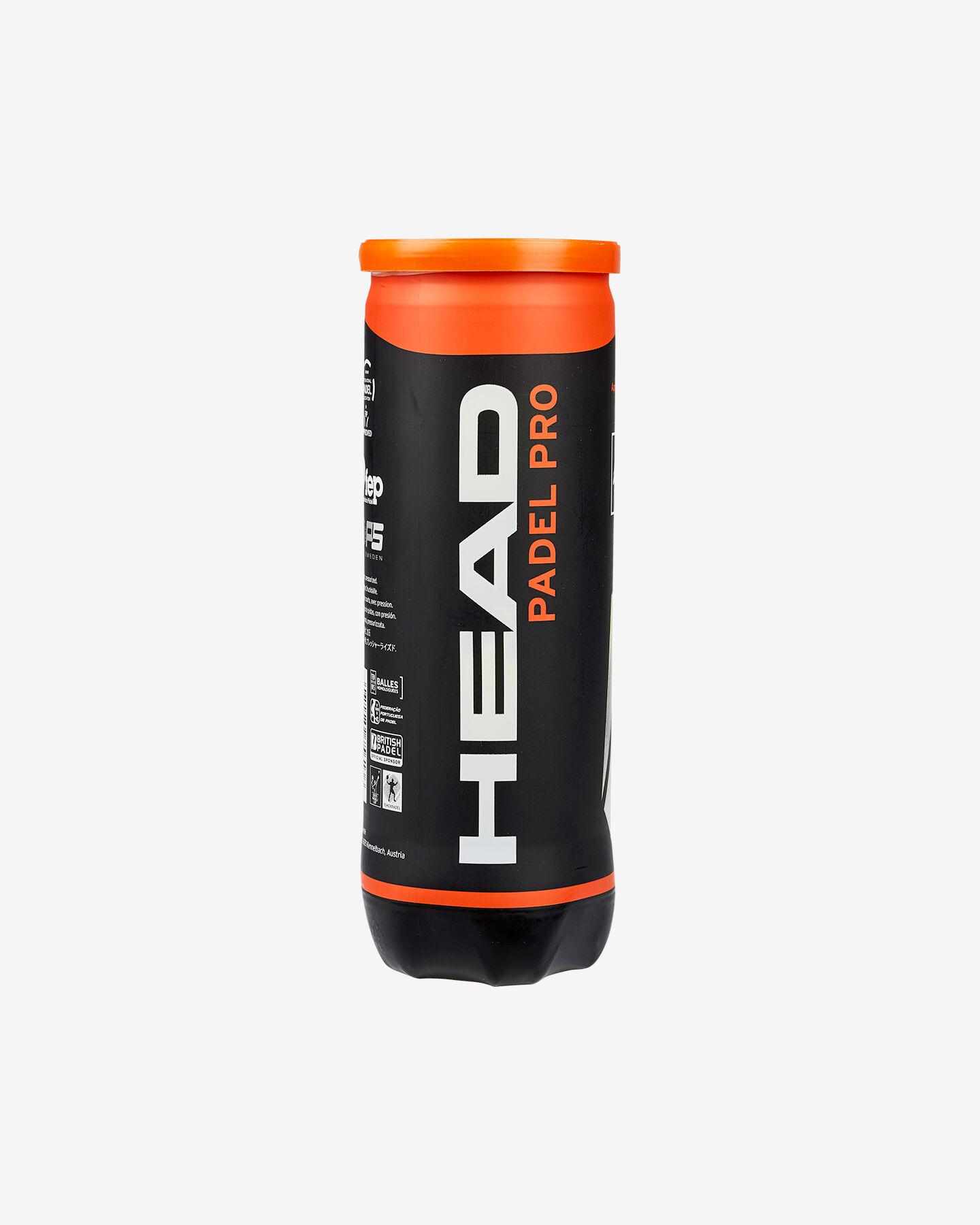 Palle tennis HEAD PRO PADEL S1311268|9999|UNI scatto 0