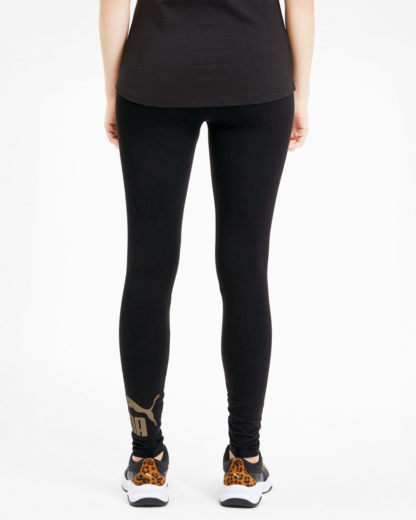 Leggings PUMA JSTRETCH LOGO FOIL W S5040858 scatto 3