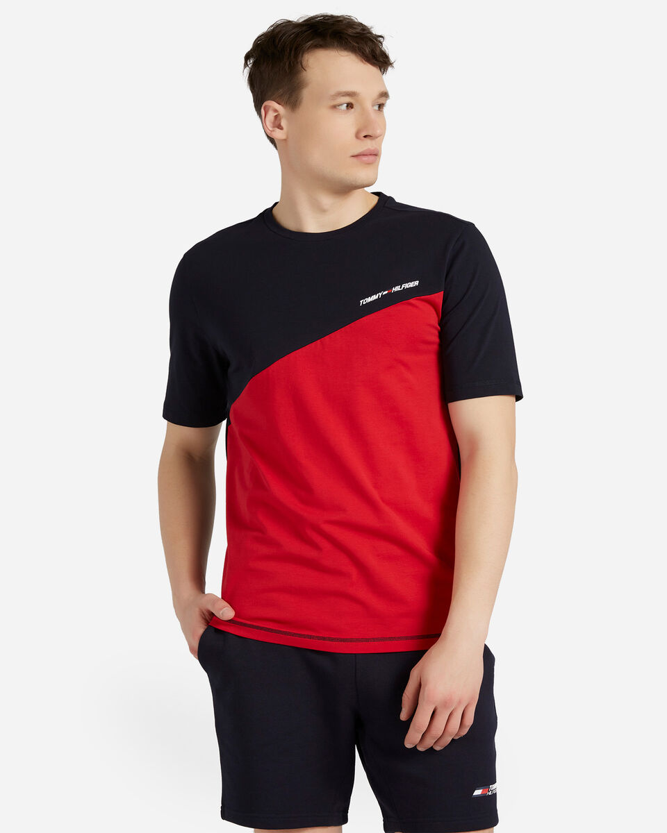 T-Shirt TOMMY HILFIGER COLOR M S4089504 scatto 0