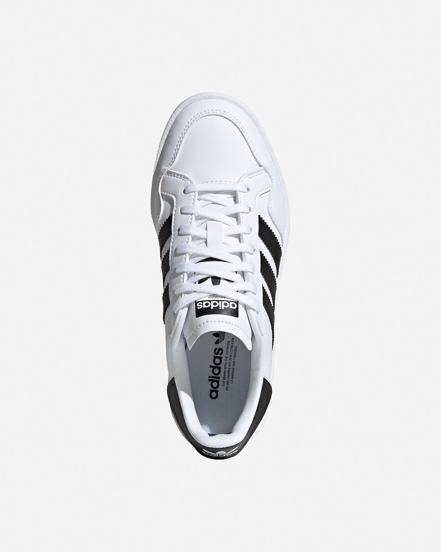 Scarpe sneakers ADIDAS TEAM COURT GS JR S5151727 scatto 2