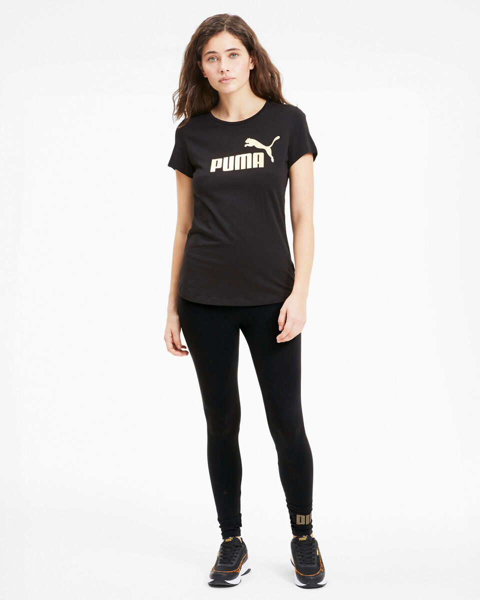 Leggings PUMA JSTRETCH LOGO FOIL W S5040858 scatto 4