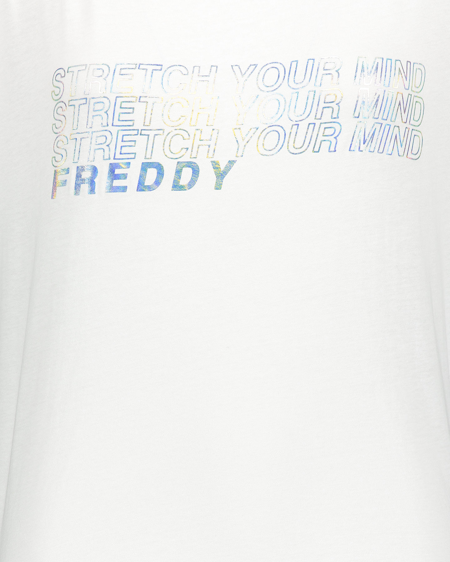 T-Shirt FREDDY STRETCH YOUR MIND W S5183390 scatto 2