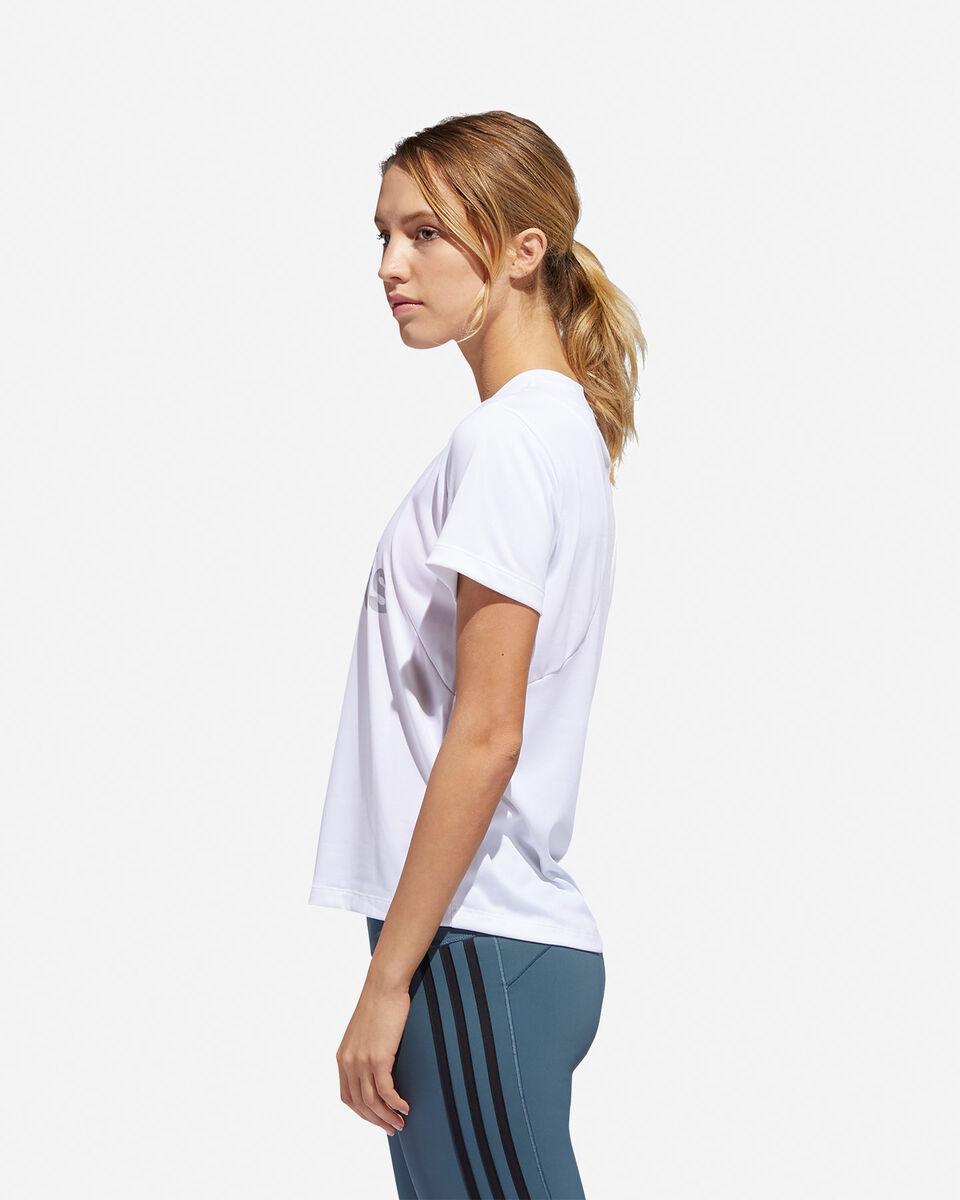T-Shirt training ADIDAS BIG LOGO W S5216580 scatto 3