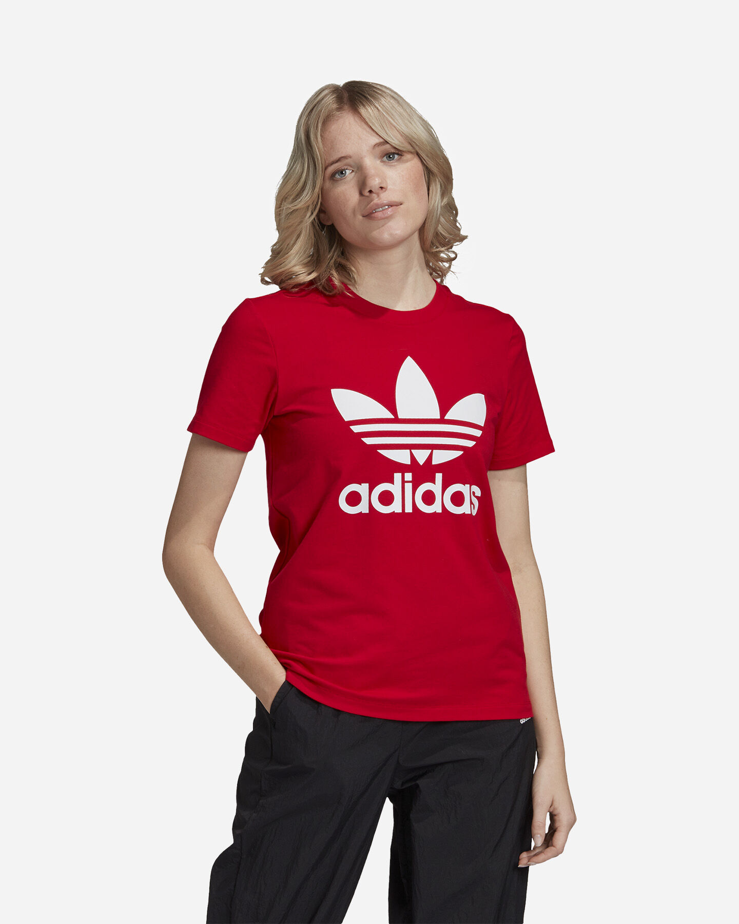 T-Shirt ADIDAS TREFOIL W S5210937 scatto 2