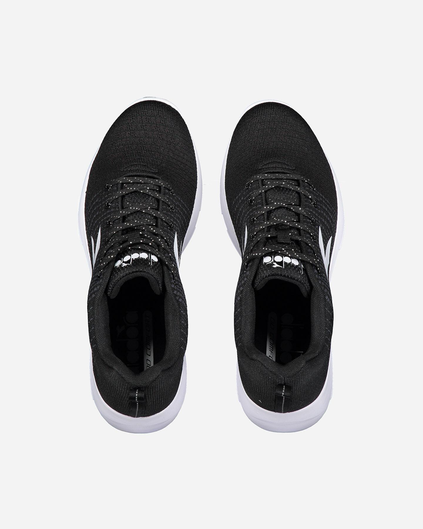 Scarpe sneakers DIADORA X RUN LIGHT 5 W S4076258 scatto 3