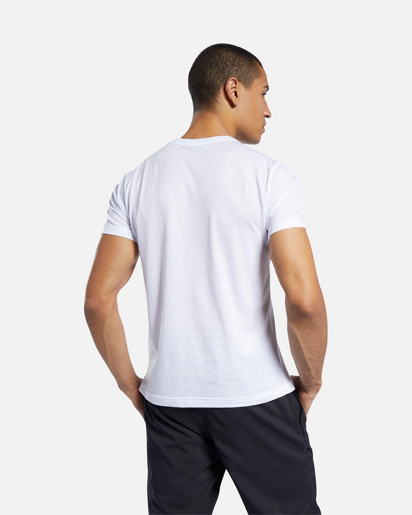 T-Shirt training REEBOK GRAPHIC SERIES LINEAR LOGO M S5146293 scatto 3