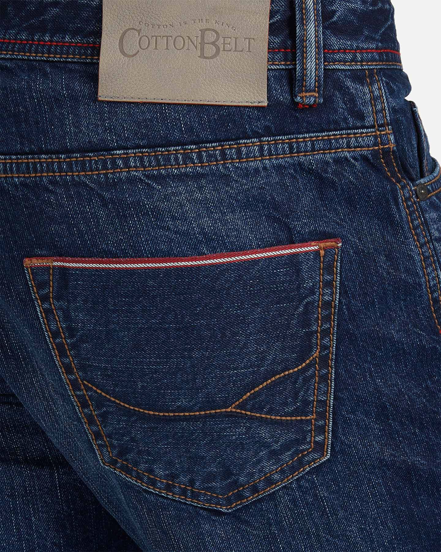 Jeans COTTON BELT 5TS SLIM M S4076649 scatto 3