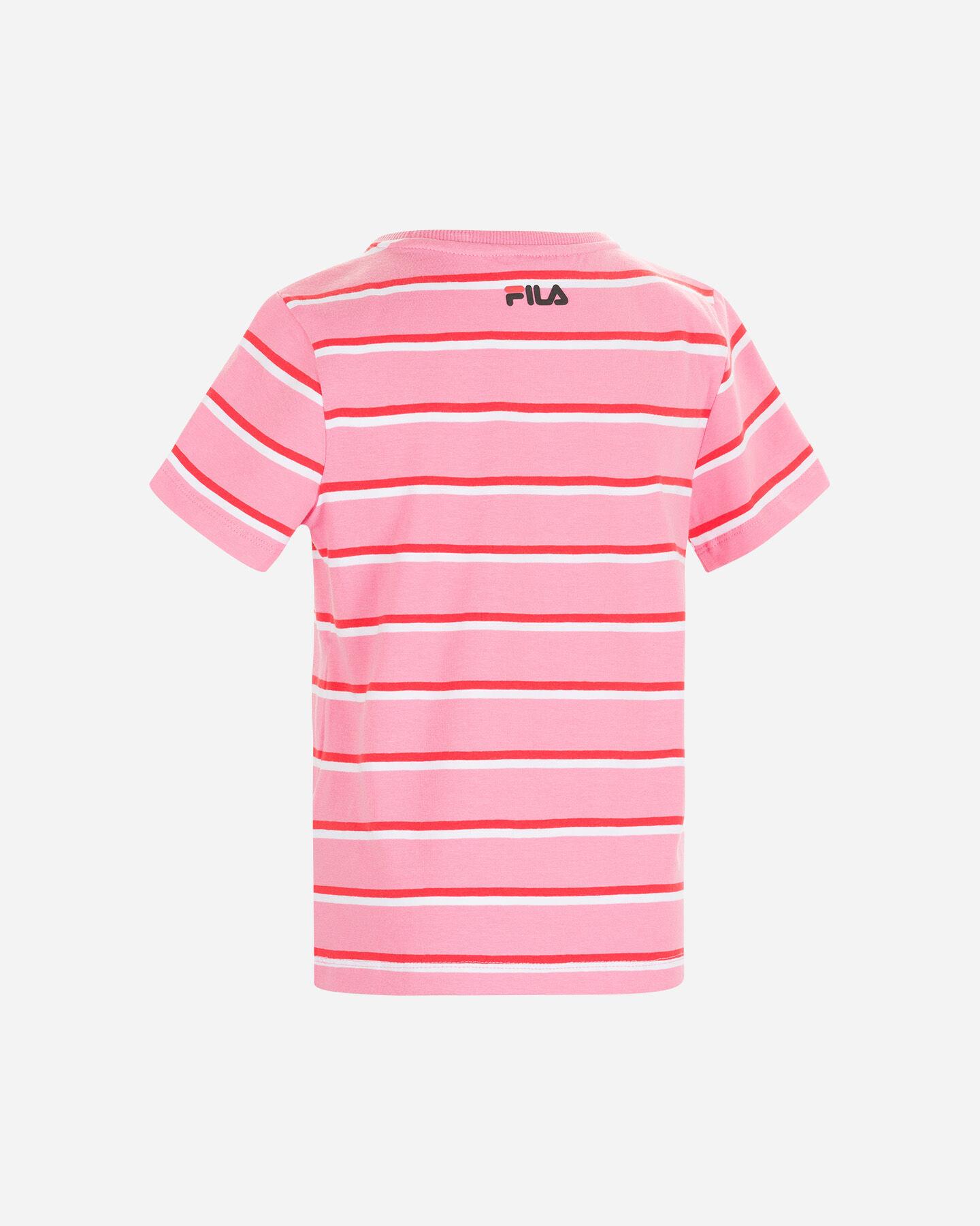 T-Shirt FILA STRIPES JR S4088698 scatto 1