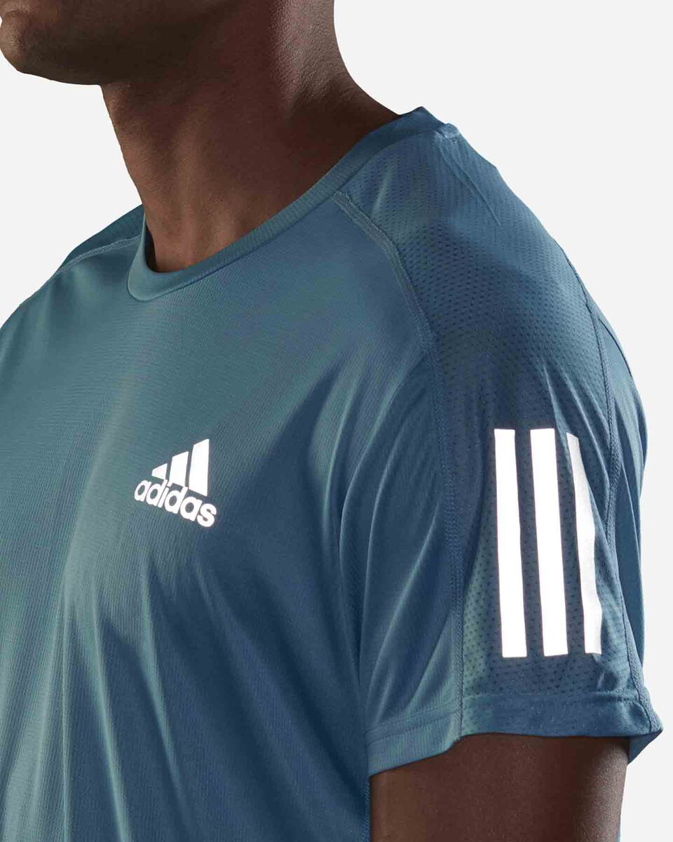 T-Shirt running ADIDAS OWN THE RUN M S5273944 scatto 4