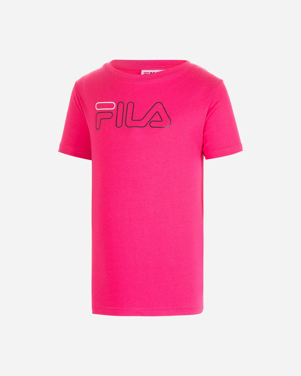 T-Shirt FILA LOGO JR S4081141 scatto 0