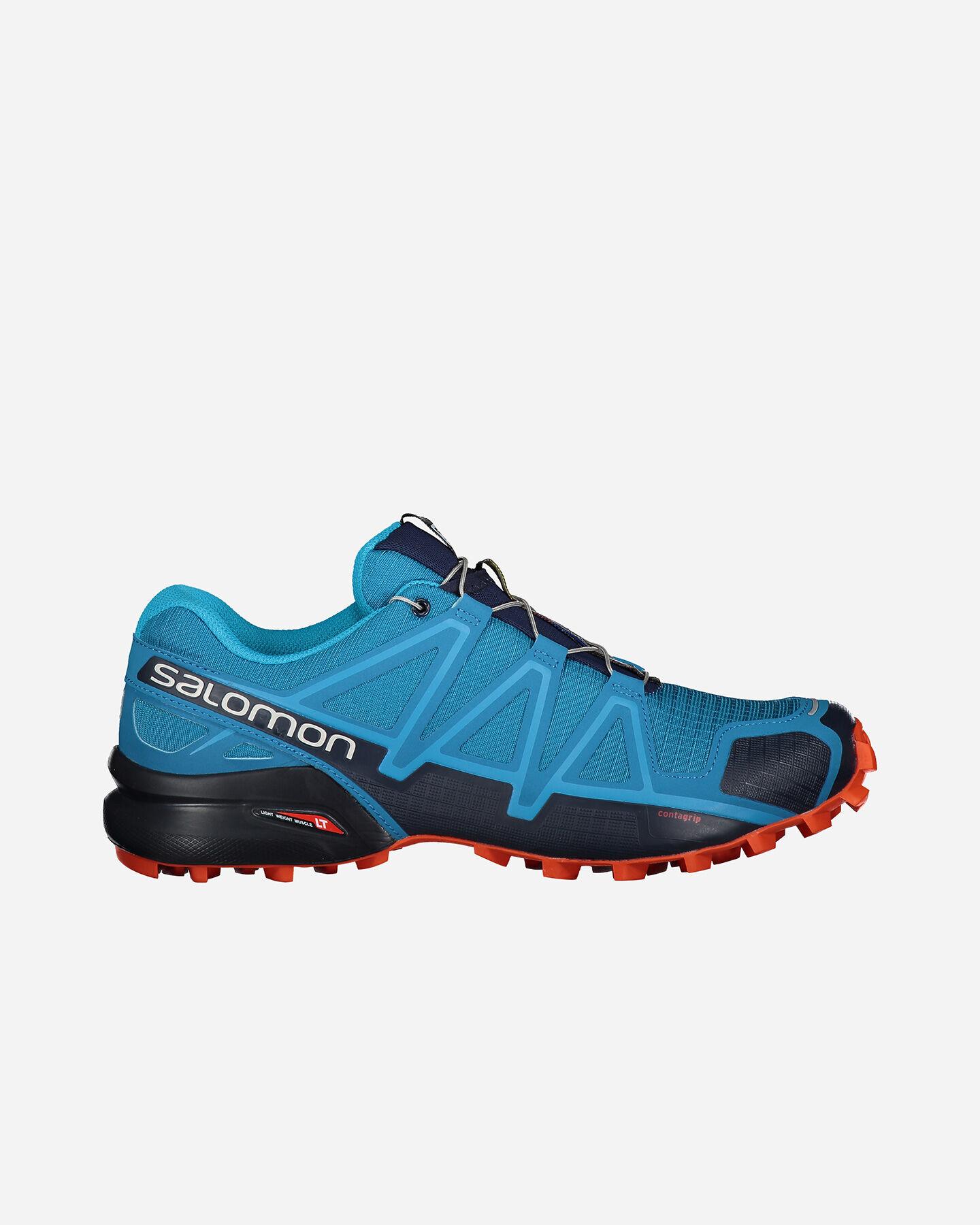 Scarpe trail SALOMON SPEEDCROSS 4 M S5096745 scatto 0