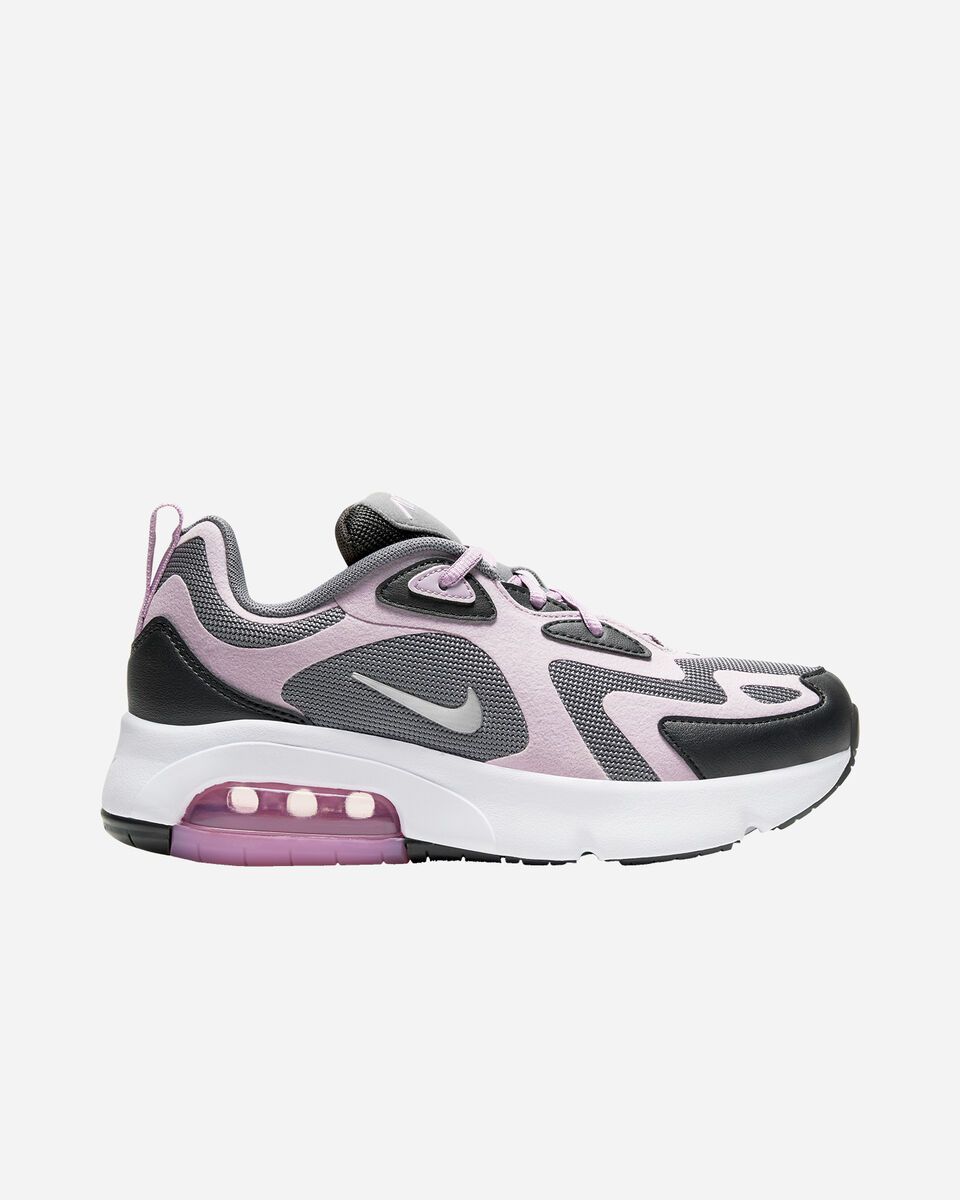 Scarpe sneakers NIKE AIR MAX 200 GS JR S5161544 scatto 0