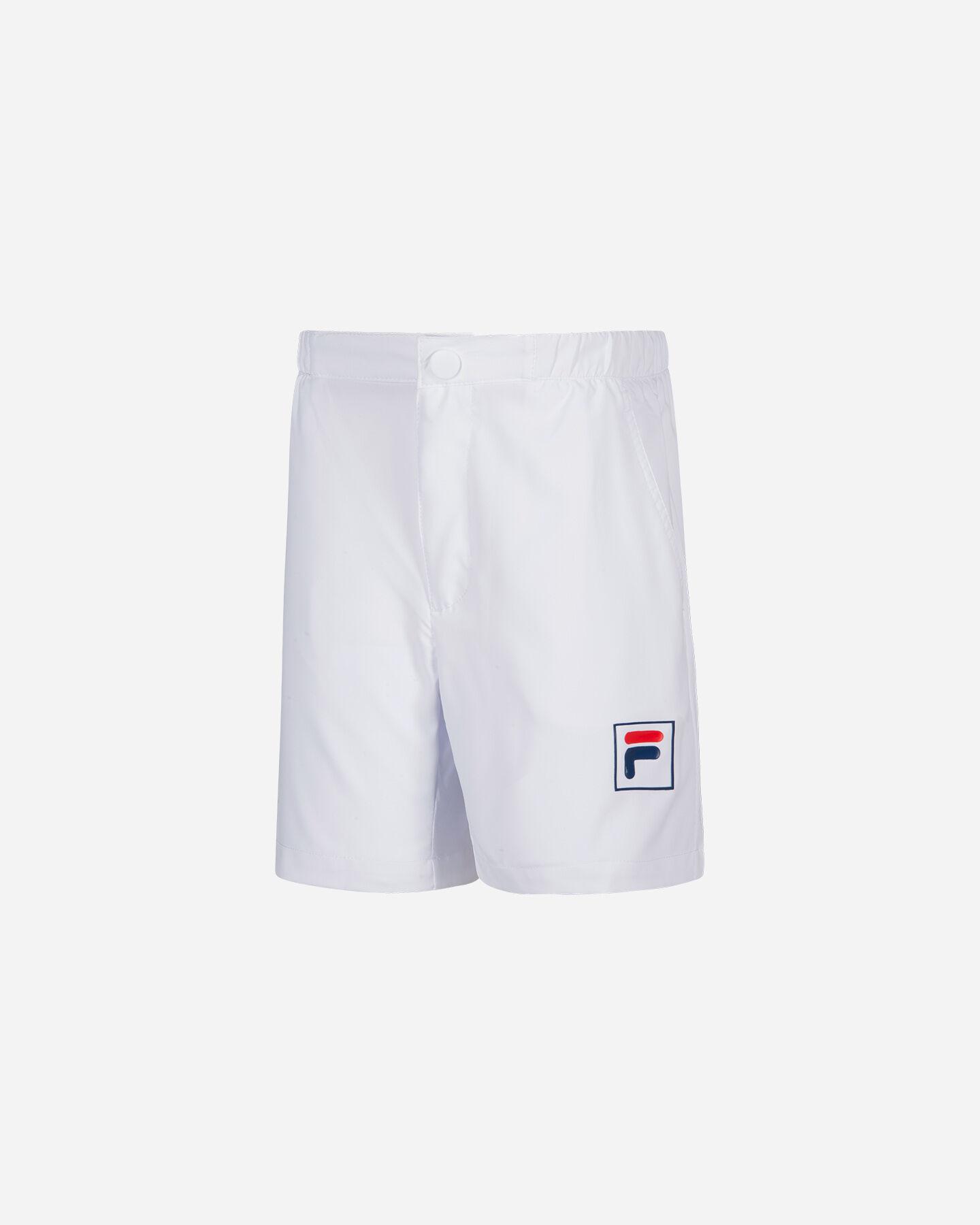 Bottom tennis FILA TENNIS SHORT JR S4007726 scatto 0