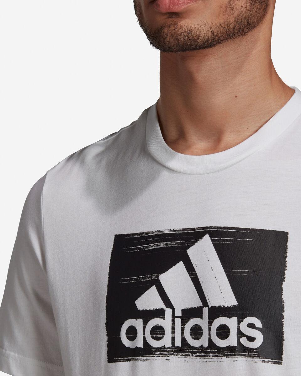 T-Shirt ADIDAS BRUSHSTROKE M S5211283 scatto 5