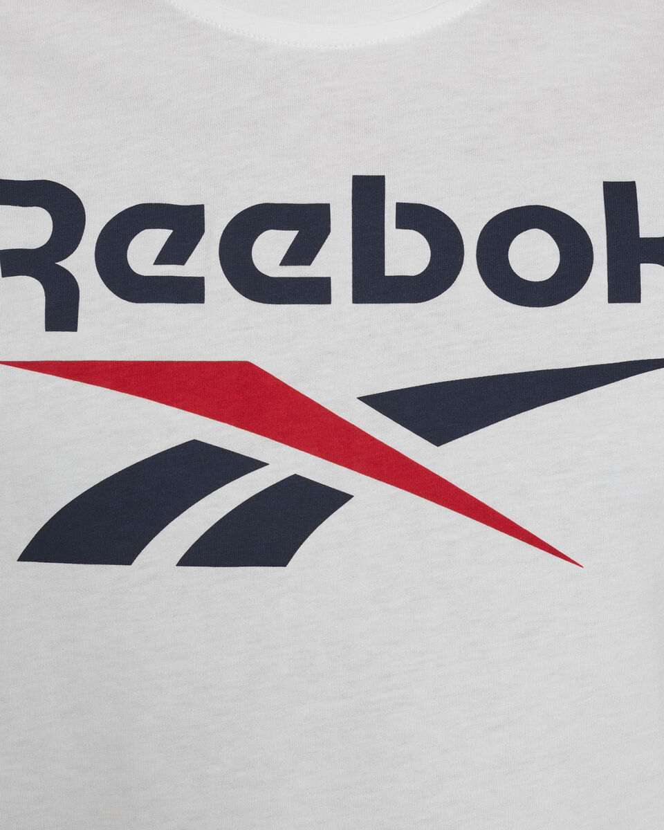 T-Shirt REEBOK CLASSIC LOGO M S5280183 scatto 4