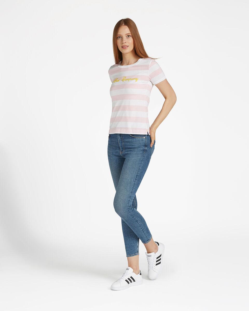 T-Shirt BEST COMPANY STRIPES W S4064575 scatto 1
