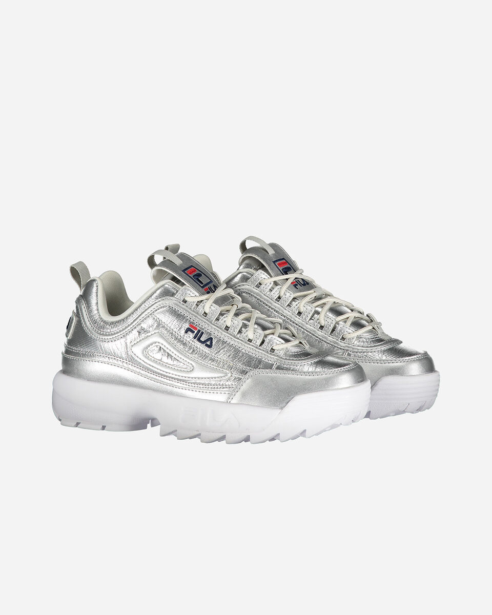Scarpe sneakers FILA DISRUPTOR LOW W S4081579 scatto 1