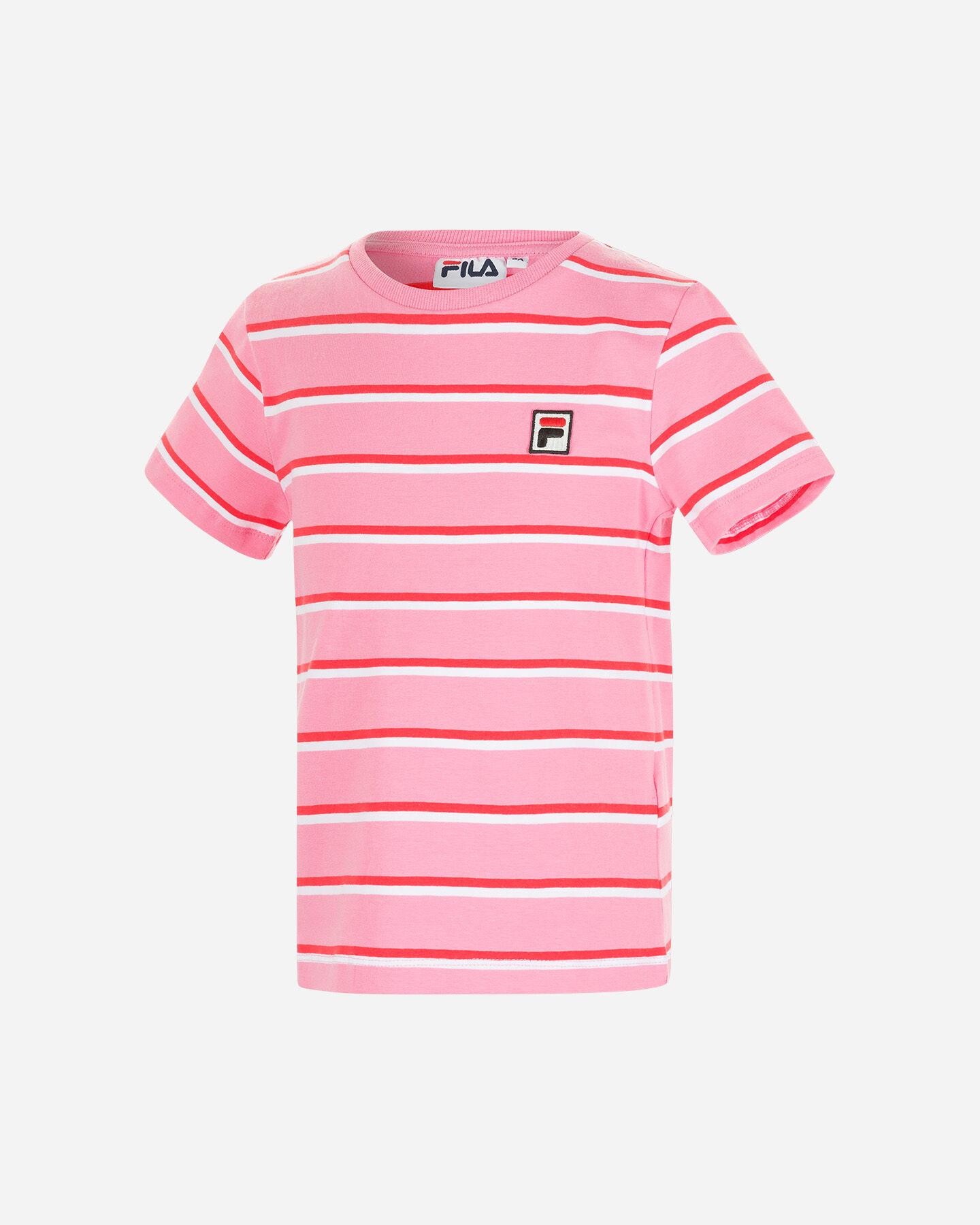 T-Shirt FILA STRIPES JR S4088698 scatto 0