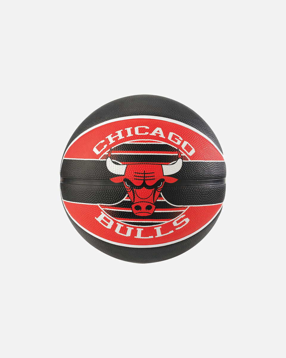 Pallone basket SPALDING NBA TEAM BALL CHICAGO BULLS MIS.7 S1317852 1 7 scatto 0