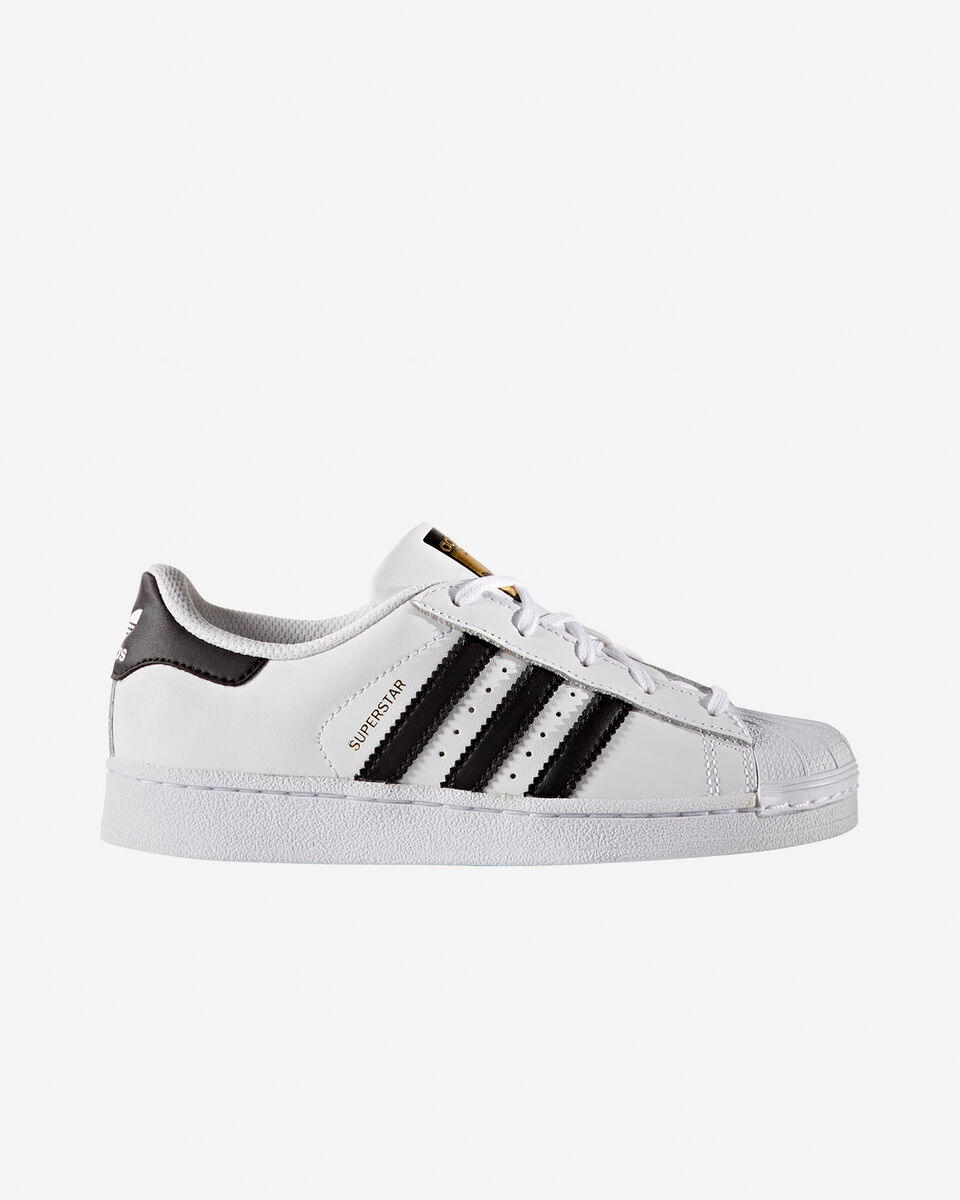 Scarpe sportive ADIDAS SUPERSTAR FOUNDATION JR PS S4009239 scatto 0