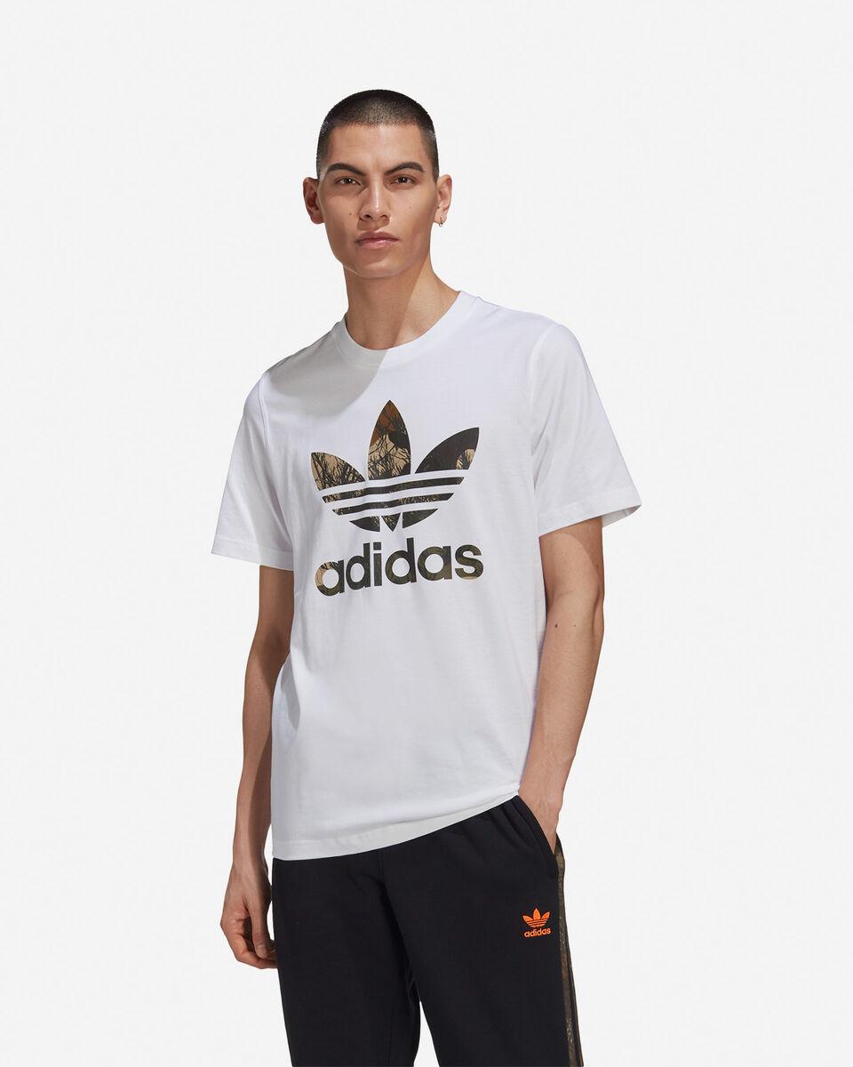 T-Shirt ADIDAS CAMO TREFOIL M S5210679 scatto 2