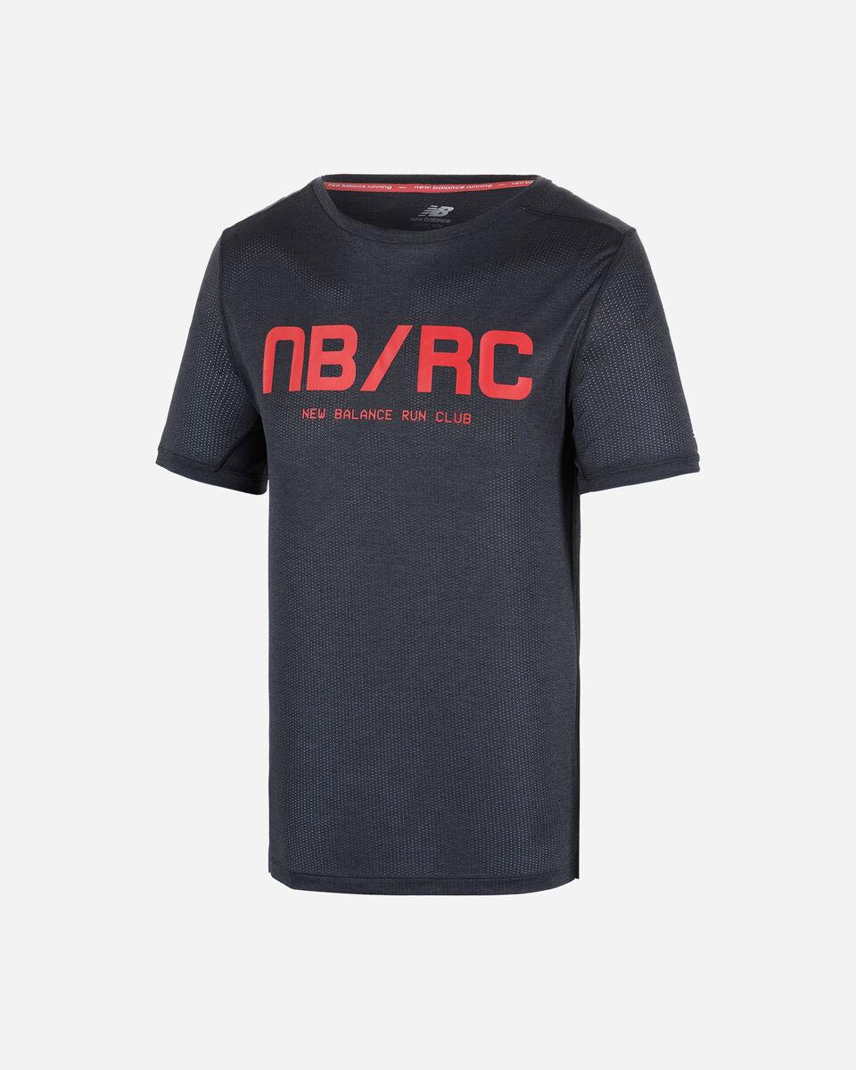 T-Shirt running NEW BALANCE PRINTED IMPACT RUN M S5166295 scatto 0