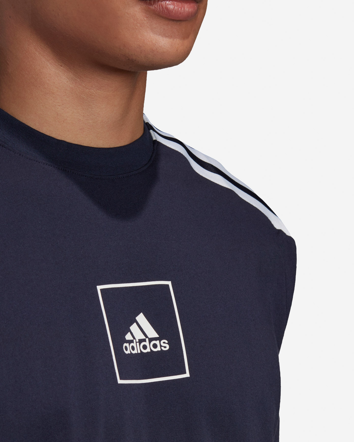T-Shirt ADIDAS 3S TAPE M S5217933 scatto 5